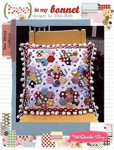 ~ Sew Hexie Cushion Pattern Lori Holt of Bee in my Bonnet ~ Fat Quarter Shop