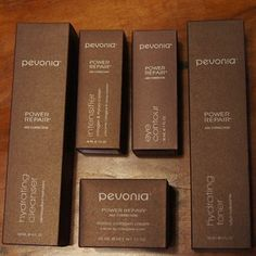 Organic skin care products from Pevonia Australia