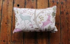 Fergus mulberry cushion  www.waringsathome.co.uk