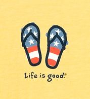 I totally support Life is Good brand.
