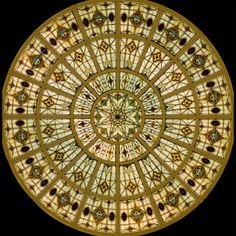 Stained Glass for Ceilings & Domes