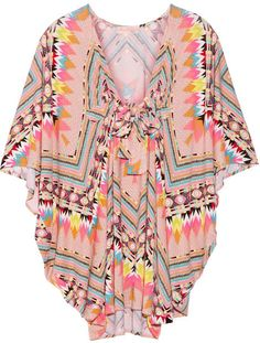 Mara Hoffman Printed stretch-modal coverup on shopstyle.com