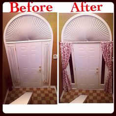 Wanted to update a little!! Bye bye side light curtains #sidelightcurtains#