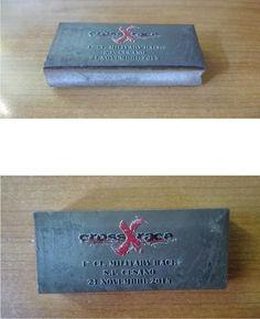 Stampa CMYKW blocchi acciaio