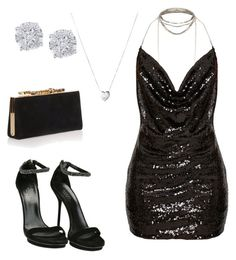 """Girls Night out"" by safiyat-aminu on Polyvore featuring Gucci, Jimmy Choo, Effy Jewelry and Links of London"