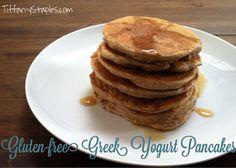 Gluten-Free Greek Yogurt Pancakes