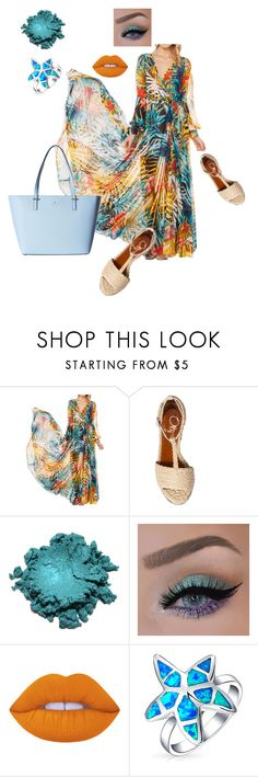 """""""Untitled #3"""" by camila-632 ❤ liked on Polyvore featuring Charlotte Olympia, Lime Crime, Bling Jewelry and Kate Spade"""