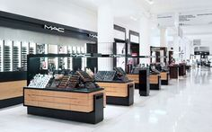 BEAUTY STORES! Selfridges Beauty Hall by HMKM, London store design