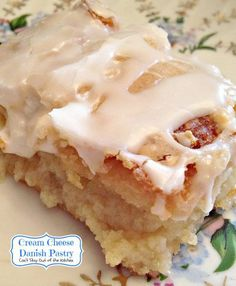 Cream Cheese Danish Pastry | Can't Stay Out of the Kitchen