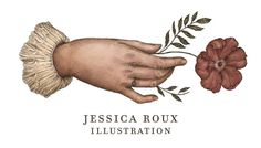 Jessica Roux Illustration; earth tone botanicals etc