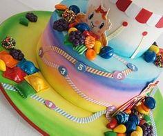 The King Cake, Brazil 2 The Candy Crush Saga Cake