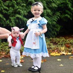 sibling halloween costume alice in wonderland and mr rabbit wwwsloanandcoshop - Halloween Ideas For Siblings