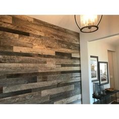 Easy Planking Thermo-treated in. x 5 in. x 4 ft. Brown, Black and Gray Barn Wood Wall Planks sq. per 6 - The Home Depot Wood Plank Walls, Wood Planks, Hardwood Floors, Planked Walls, Wood Paneling Walls, Wood Accent Walls, Wood Plank Ceiling, Home Depot, Reclaimed Barn Wood