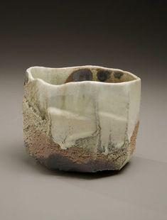 Nishihata Tadashi - Tanba-ware-vidriada-té-bowl