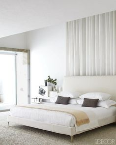 - Architecture and Home Decor - Bedroom - Bathroom - Kitchen And Living Room Interior Design Decorating Ideas - Dream Bedroom, Home Decor Bedroom, Bedroom Ideas, Lux Bedroom, Master Bedroom, Grey Bedrooms, Bedroom Neutral, Bedroom Interiors, Bedroom Simple
