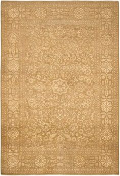 Part of the Ralph Lauren collection for Ralph Lauren Home Rugs, Harper Tonal Colony Cream rugs were inspired by beautiful 18th century antique Tabriz carpets. Hand knotted from 100 percent pure wool in Pakistan, The Harper Tonal Colony Cream rug features a vintage look and aged appearance. Each rug is one-of-a-kind, after being washed multiple times, sun dried, and sheared to a corn weave texture. http://www.cyrusrugs.com/ralph-lauren-home-rugs-item-13701&category_id=1653