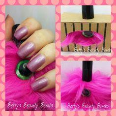 Betty's Beauty Bombs / Polish Pets Fen #nailpolish #polishpets #manicure #pink