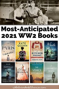 Are you looking for new WW2 books to read in 2021? Don't miss this upcoming 2021 World War 2 book releases reading list filled with historical fiction, biographical fiction, and romance about WW2. Best Historical Fiction Books, Fiction Books To Read, Best Books To Read, Good Books, Must Read Novels, Feminist Books, History Books, Reading, Historia