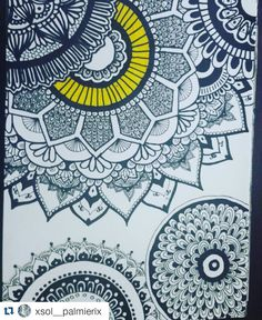 #Repost @xsol__palmierix  #love #zentangleart #mandala #mandalas #draw #drawing  #formas #flores #amazing #art #artist #art