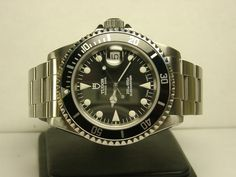 Tudor [Rolex] Submariner Prince Date - forget the Rolex, this even harder to find Tudor cousin is a beauty in design and form