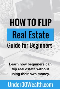 The complete beginner's guide to wholesaling real estate. Learn everything from setting goals, to finding properties to flip, to how the contract assignment works so you can collect a wholesaler fee. Real Estate One, Getting Into Real Estate, Real Estate Career, Real Estate Business, Real Estate Investor, Selling Real Estate, Real Estate Marketing, Online Business, Real Estate Office
