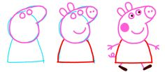 pepa pig dibujo