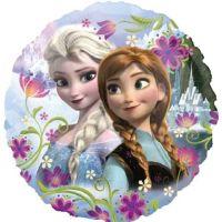 """18"""" FOIL FROZEN ANNA & ELSA"""