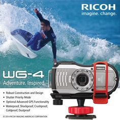 RICOH WG4 and WG mounting system ad
