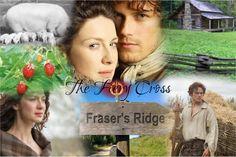 Outlander Love/The Fiery Cross Outlander Fan Art, Outlander Season 3, Outlander Book Series, Starz Series, E Claire, Jamie And Claire, The Fiery Cross, Diana Gabaldon, Jamie Fraser