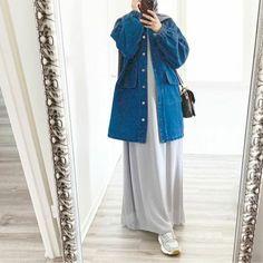 Modest Fashion Hijab, Modesty Fashion, Skirt Fashion, Fashion Outfits, Mode Abaya, Mode Hijab, Mode Turban, Moslem Fashion, Hijab Fashionista