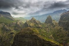 The unreal and rugged landscape of the Mafate Cirque Reunion Island [3840x2560] [OC]