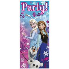 Frozen Door Poster Decoration | Discount Individual Decorations and Supplies