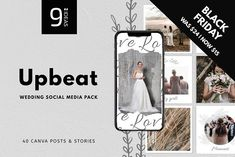 "CANVA | Upbeat Instagram Templates by 9""IDEAS"