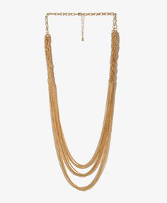Braided Chain Swag Necklace $6.80