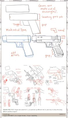 Gunssssssssss (mostly reference but it helps)