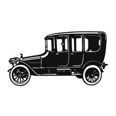 Old Car  Väggdekor  59x120cm