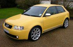 Audi S3 2002 Imola Yellow - Audi A3 - Wikipedia
