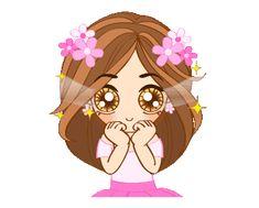 Dee Dee Girl 2 Smile Pictures, Gif Pictures, Love Is Cartoon, Gif Dance, Cute Love Gif, Baby Pigs, Cute Emoji, Cartoon Gifs, Dee Dee