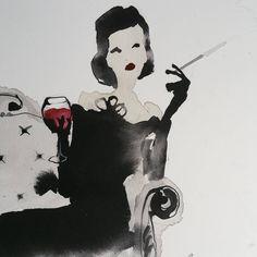 Bridget Davies: She loved her red wine 3