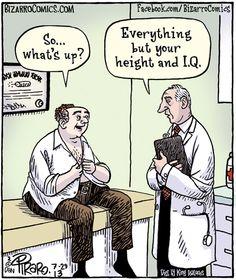 New Medical Cartoon Hilarious Ideas Funny Puns, Funny Cartoons, Funny Quotes, Funny Stuff, Funny Art, Bizarro Comic, Medical Jokes, Medical Advice, Funny Cartoon Pictures