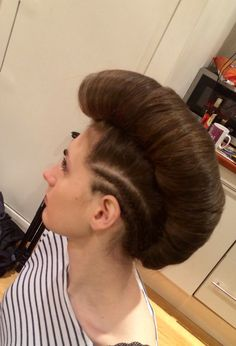 Female Hairstyles, Up Hairstyles, Runway Hair, Editorial Hair, Brunette Hair, Cornrows, Updos, Candy, Hair Styles
