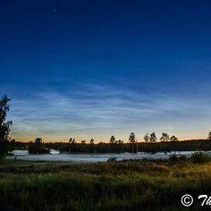 Var ute på en liten tur med kameran. #nattfoto #nightphotography #åkersberga #nattlysandemoln