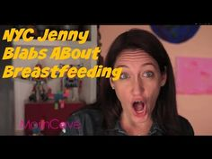 Ever get mad at someone for staring at your while you were nursing in public? NYCJenny blabs about a funny breastfeeding story on MomCaveTV.com