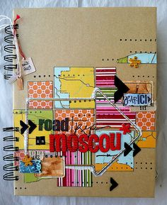 road book moscou
