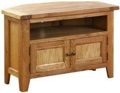 oakhampton chunky oak corner cabinet | living room ideas - plush