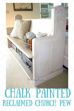 How to use chalk paint and dark wax to transform any piece of furniture into a faux antique! #decoartprojects #chalkyfinish