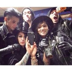 Who's your Black Veil Brides boyfriend? (with stories)