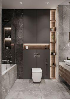 Best Bathroom Designs, Bathroom Design Luxury, Bathroom Layout, Modern Bathroom Design, Small Bathroom, Modern Bathroom Furniture, Washroom Design, Bathroom Ideas, Design Hall