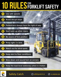 Forklift Safety #tips for #safety #workers.