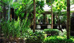 Salão Marcos Proença | Projeto arquitetônico de Esther Giobbi e Paisagismo de Alex Hanazaki